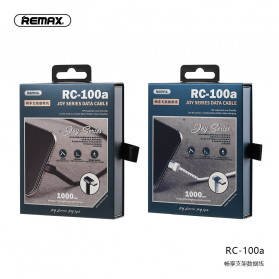 Remax Joy Series Kabel Charger Micro USB 2.4A 1 Meter - RC-100m - Black - 9