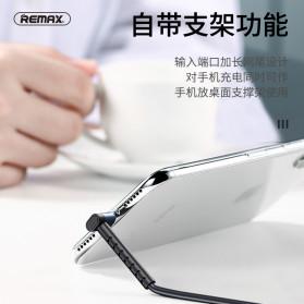 Remax Joy Series Kabel Charger Micro USB 2.4A 1 Meter - RC-100m - Black - 3