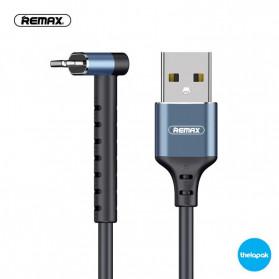 Remax Joy Series Kabel Charger Lightning 2.4A 1 Meter - RC-100i - Black