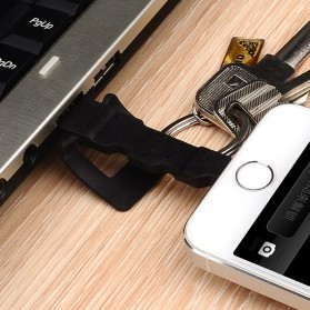 Baseus Key Cable Lightning to USB for iPhone & iPad - Black - 3