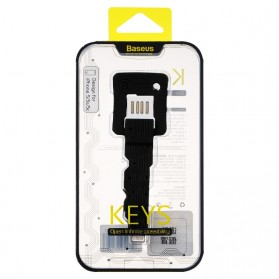 Baseus Key Cable Lightning to USB for iPhone & iPad - Black - 6