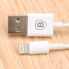 Baseus Fast Charging Lightning Cable 2m for iPhone 6/7/8/X - White - 3