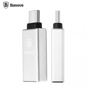 Baseus Rui Series USB 3.0 to USB 3.1 Type C Adapter Converter - Silver