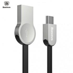 Baseus Kabel Charger Zinc Alloy USB Type C - CATKB-01 - Black - 1