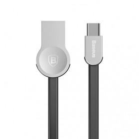 Baseus Kabel Charger Zinc Alloy USB Type C - CATKB-01 - Black - 2