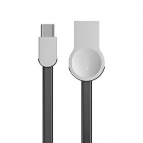 Baseus Kabel Charger Zinc Alloy USB Type C - CATKB-01 - Black - 3