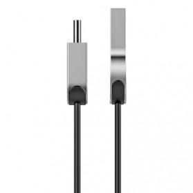 Baseus Kabel Charger Zinc Alloy USB Type C - CATKB-01 - Black - 4