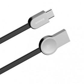 Baseus Kabel Charger Zinc Alloy USB Type C - CATKB-01 - Black - 5