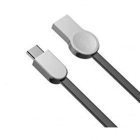 Baseus Kabel Charger Zinc Alloy USB Type C - CATKB-01 - Black - 6