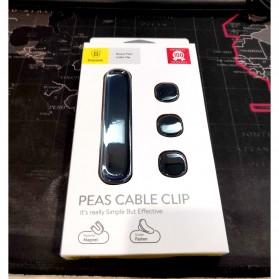 Baseus Magnetic USB Cable Clip Holder - ACWDJ-01 - Black - 8