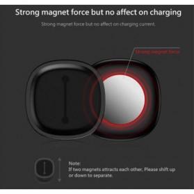 Baseus Magnetic USB Cable Clip Holder - ACWDJ-01 - Black - 5