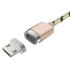 Baseus Insnap Series Kabel Charger Magnetic Micro USB 1 Meter - Golden