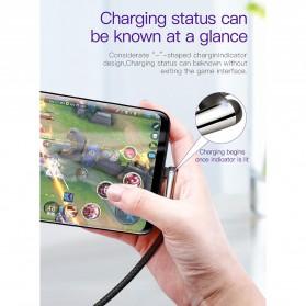 Baseus MVP Kabel Charger USB Type C L Shape 2 Meter - CATMVP-E01 - Black - 3