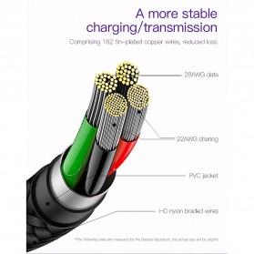 Baseus MVP Kabel Charger USB Type C L Shape 2 Meter - CATMVP-E01 - Black - 7