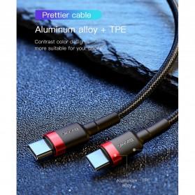 Baseus Cafule Series Kabel Charger Laptop USB Type C 3A 60W 1 Meter CATKLF-GG1 - Black - 10