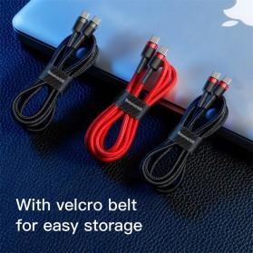 Baseus Cafule Series Kabel Charger Laptop USB Type C 3A 60W 2M - CATKLF-HG1 - Black - 7