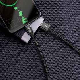 Baseus Kabel Charger USB Type C Double Fast Charging 5A 1 Meter - Black - 7