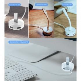 Baseus USB Hub Adapter 3 x USB 2.0 + 1 x USB 3.0 - C30A-03 - Black - 4