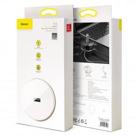 Baseus USB Hub Adapter 3 x USB 2.0 + 1 x USB 3.0 - C30A-03 - Black - 8