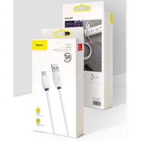 Baseus Kabel Charger USB Type C 40W 5A 1 Meter - CATZS-01 - Black - 7
