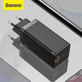 Baseus GaN2 Pro Charger USB Type C PD Quick Charge 3 Port 65W - CCGAN65E2 - Black