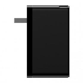 Baseus GaN Mini Charger USB Type C+C+A PD Quick Charge 3 Port 120W - CCGAN-J01 - Black - 4