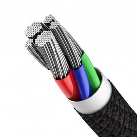 Baseus Kabel Charger USB Type C to Lightning PD 20W 1 Meter - CATLGD-01 - Black - 3