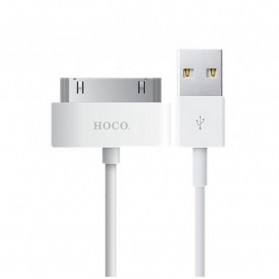 Hoco UP301 30 Pin Apple Cable for iPhone 4/4s iPad 1 - White - 1