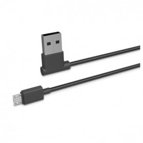 Hoco UPM10 L Shape Micro USB Cable for Smartphone - Black - 2
