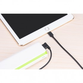 Hoco UPL11 L Shape Lightning USB Cable for iPhone - Black - 3