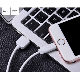 Hoco X1 Lightning Charging Cable 1m for iPhone/iPad - White - 2