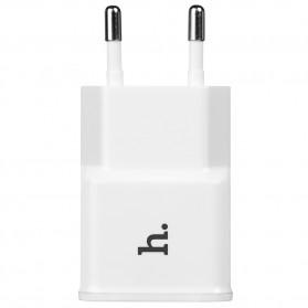 Hoco UH202 Dual USB Port Quick Charger EU Plug 1.0A - White - 3