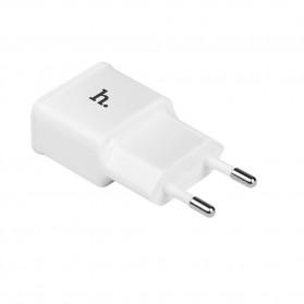 Hoco UH202 Dual USB Port Quick Charger EU Plug 1.0A - White - 6