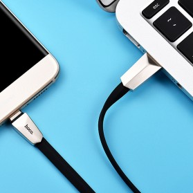Hoco X4 Micro USB Charging Cable 1.2M for Smartphone - Black - 2