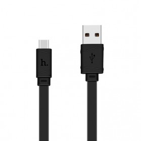 Hoco X5 Type C USB Charging Cable 1M for Smartphone - Black - 1
