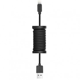 HOCO U12 Kabel Charger Lightning - Black