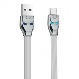 HOCO U14 Iron Man Kabel Charger USB Type C - Gray
