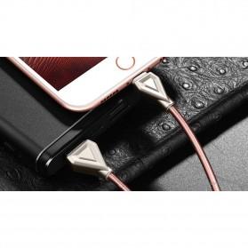 HOCO U25 Armor Series Kabel Charger USB Type C - Dark Gray - 4