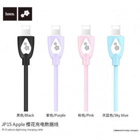 HOCO JP15 Sakura Kabel Charger USB Type C - Sky Blue - 3
