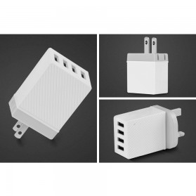 HOCO Charger USB 4 Port 3.4A - C23B - White - 6