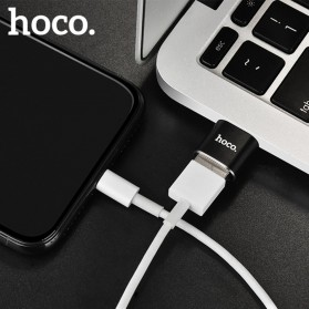 HOCO UA5 USB Type C to USB Type A OTG Adapter Converter - Black - 5