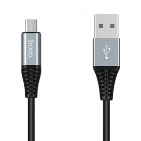 HOCO U22 Power Bank 2000mAh dengan Kabel Charger Micro USB 1.2 Meter - Black - 2