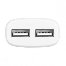 HOCO Charger USB 2 Port 2.4A EU Plug - C12 - Black - 2