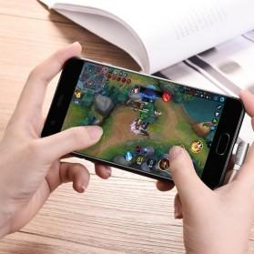 Hoco Kabel Charger Lightning L Shape for iPhone - U42 - Black - 2
