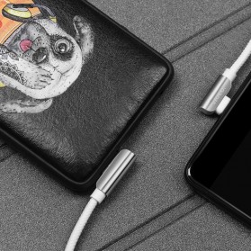 Hoco Kabel Charger Lightning L Shape for iPhone - U42 - Black - 3