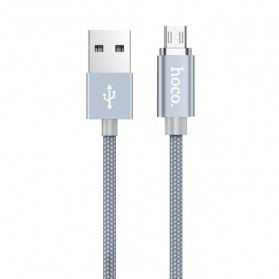 Hoco Kabel Charger Micro USB Magnetic Adsorption - U40A - Gray