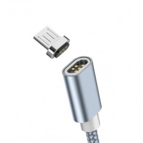 Hoco Kabel Charger Micro USB Magnetic Adsorption - U40A - Gray - 2