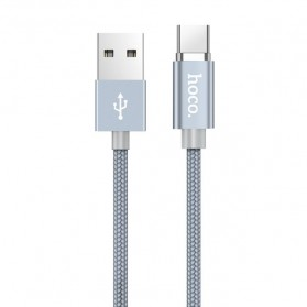 Hoco Kabel Charger USB Type C Magnetic Adsorption - U40A - Gray