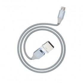 Hoco Kabel Charger Micro USB Magnetic Adsorption - U40B - Gray - 6