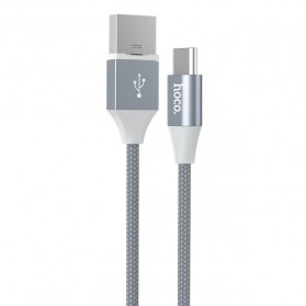 Hoco Kabel Charger USB Type C Magnetic Adsorption - U40B - Gray - 3